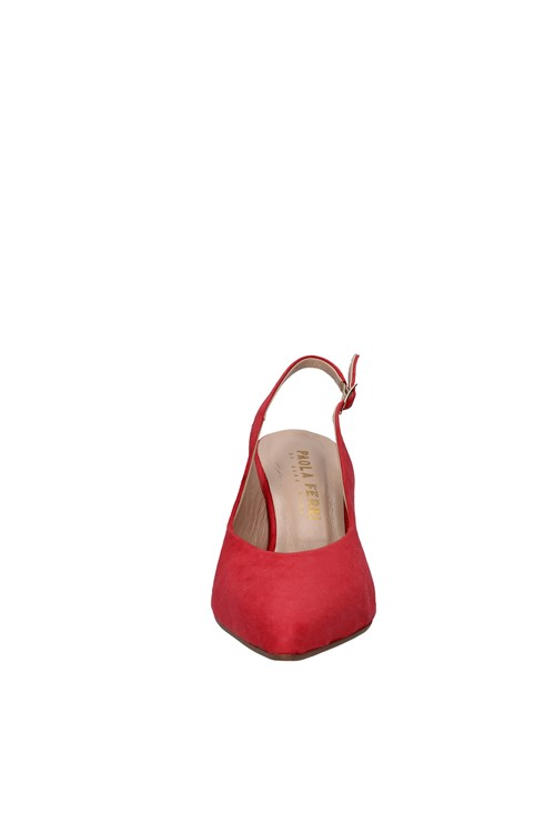Paola Ferri With heel RED
