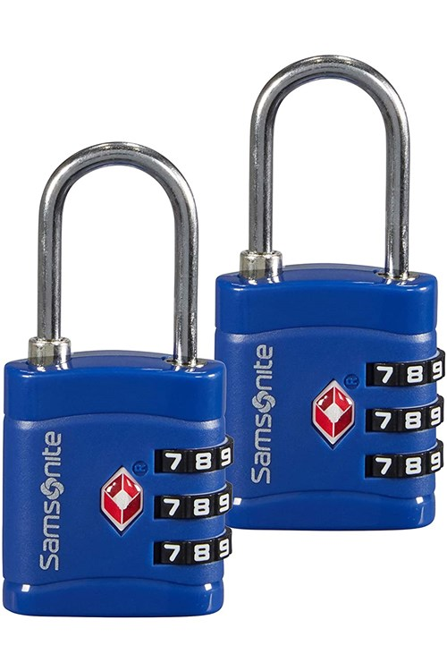 Samsonite Padlock BLUE