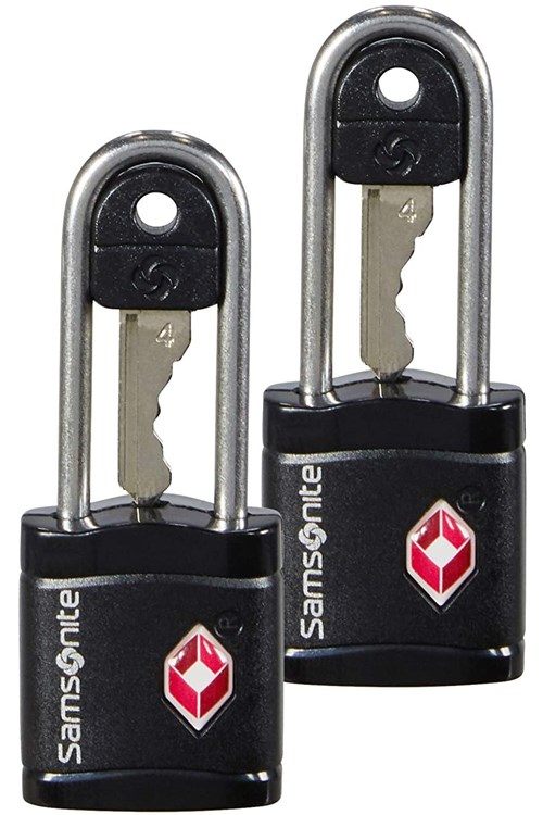 Samsonite Padlock BLACK