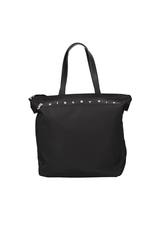 Sisley Shopping bags BLACK