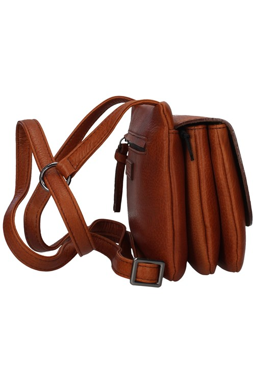 Bruno Rossi Shoulder Strap BROWN