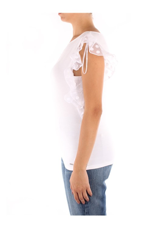 Guess Short sleeves WHITE