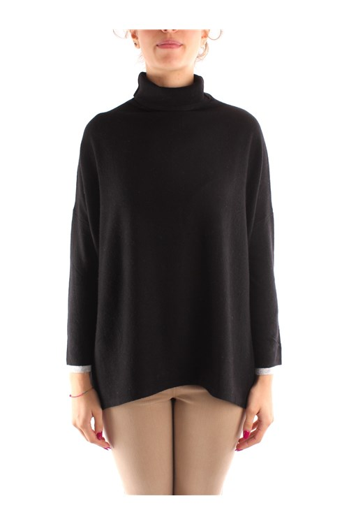 Emme Di Marella High Neck  BLACK