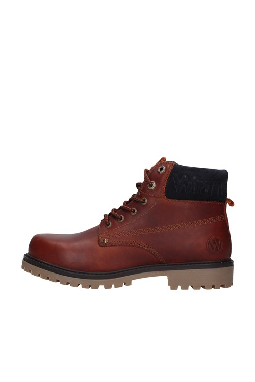 Wrangler boots RED