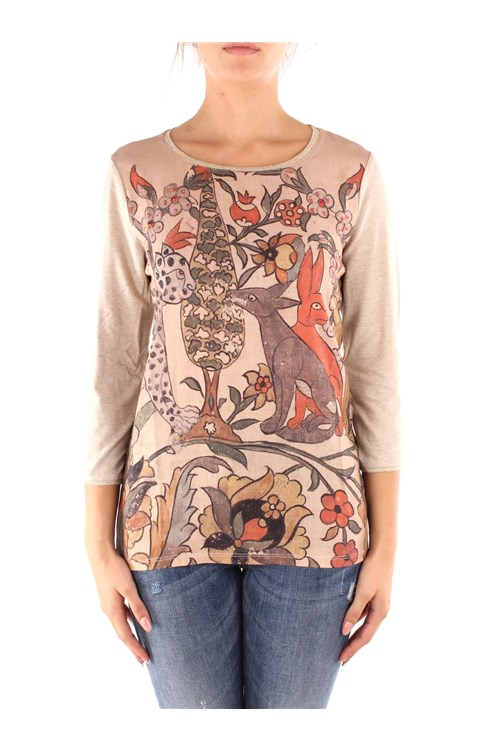 Desigual Long sleeve BEIGE