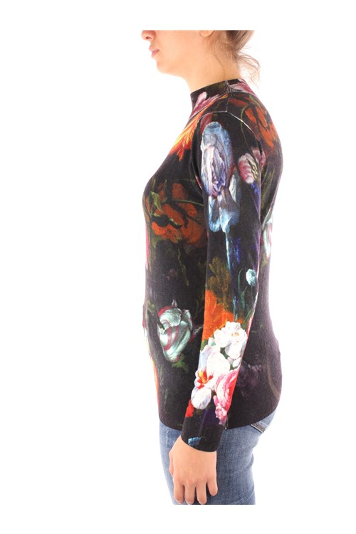 Desigual High Neck  BLACK