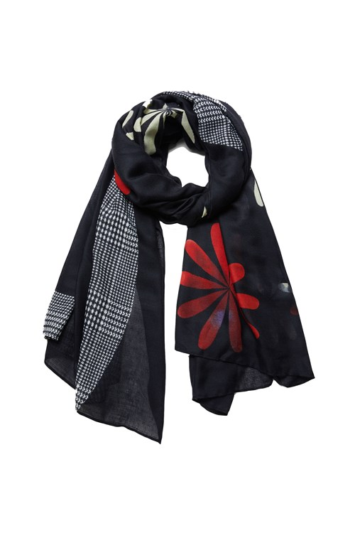 Desigual Scarves And Foulards GREY