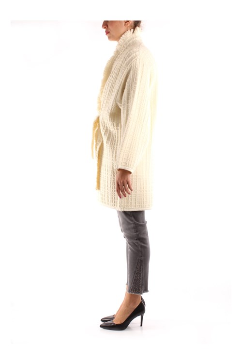 Friendly Sweater Long WHITE