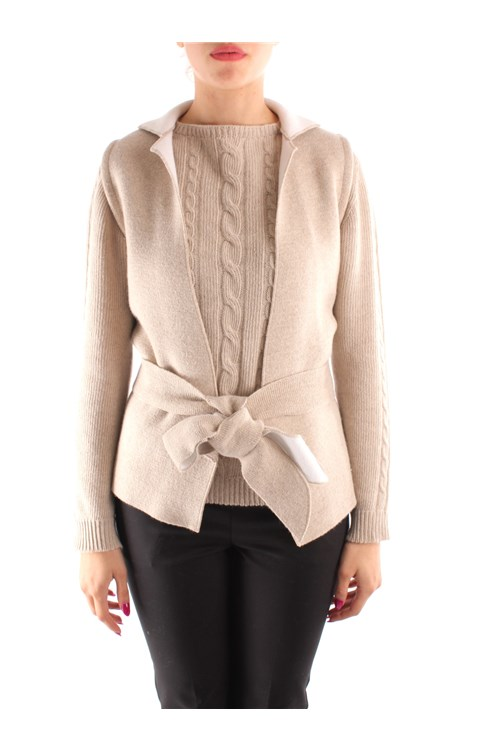 Friendly Sweater Jackets BEIGE