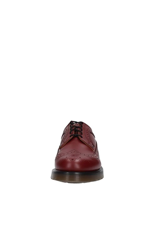 Dr. Martens Shoes With Laces RED