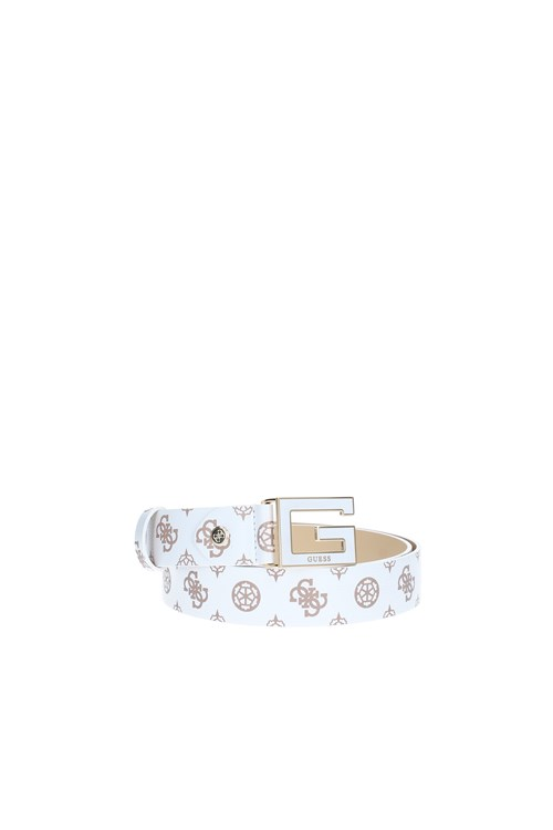 Guess Belts WHITE