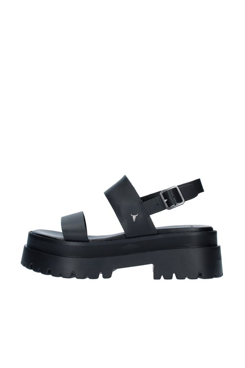 Windsor Smith With wedge BLACK