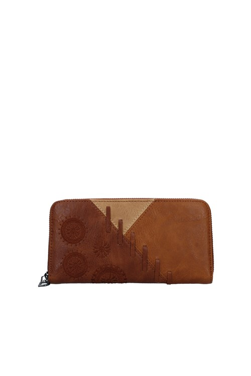Desigual Wallets BROWN