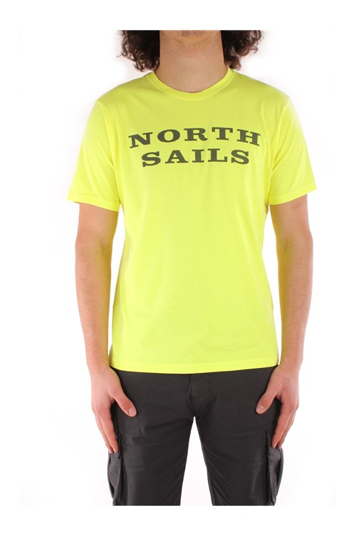 North Sails Short sleeve YELLOW
