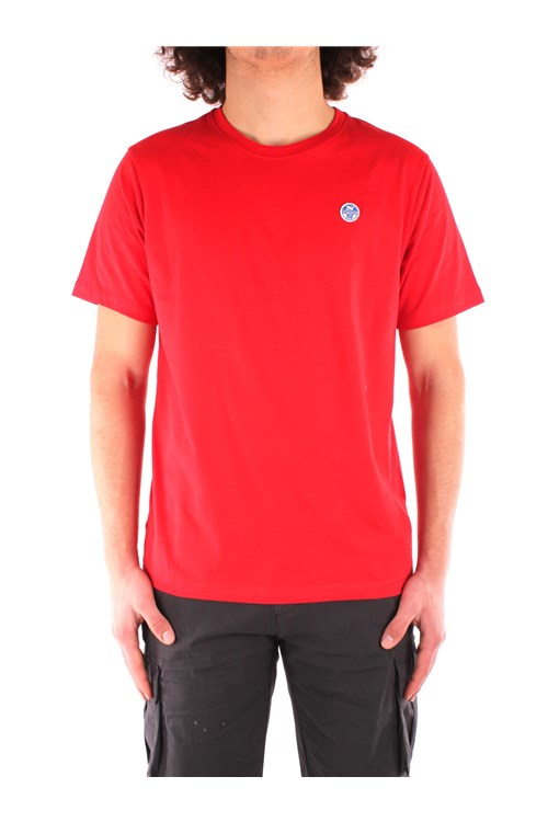 North Sails Short sleeve RED
