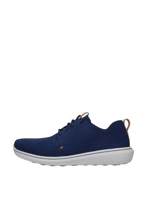 Clarks low NAVY BLUE