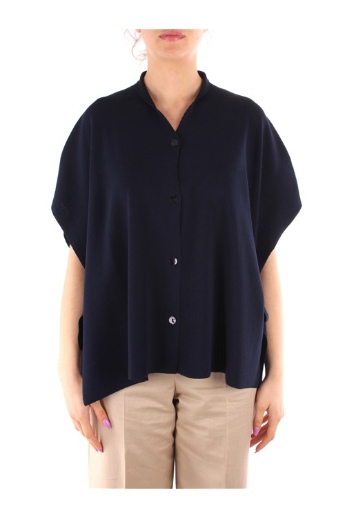 Friendly Sweater Blouses BLUE