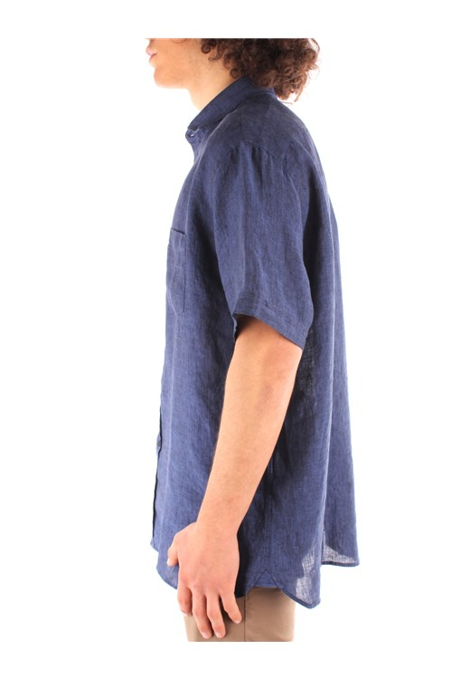 Trussardi Jeans Short sleeves NAVY BLUE