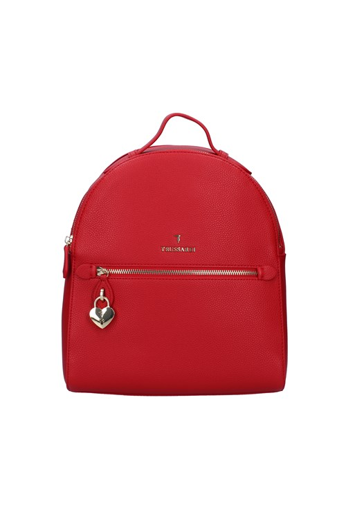 Trussardi Jeans Backpacks RED