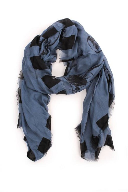 Weekend Maxmara Scarves And Foulards BLUE