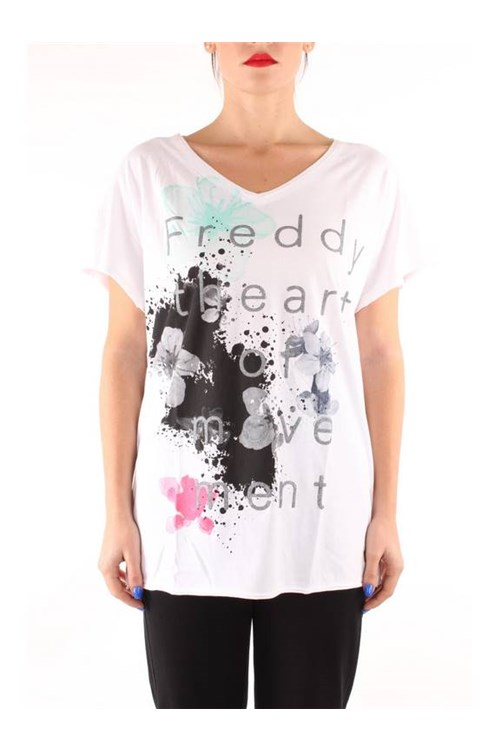 Freddy  Short sleeve WHITE WOOD