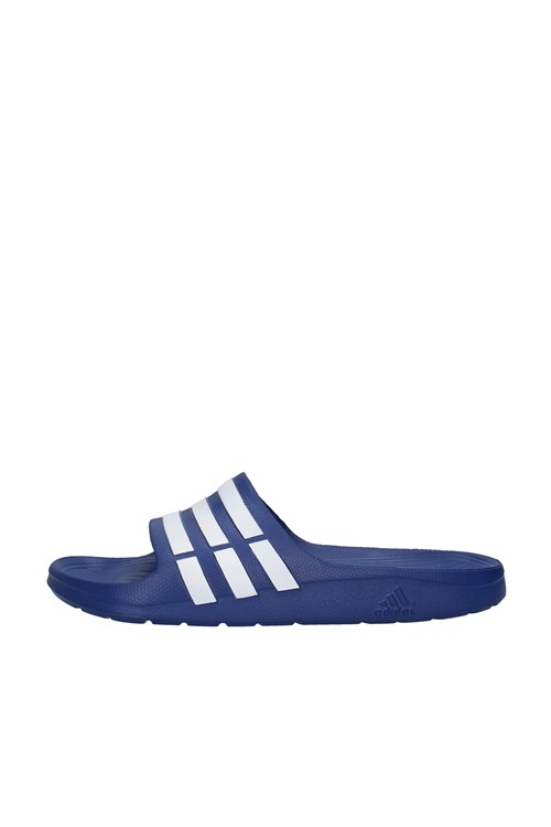 Adidas slippers BLUE