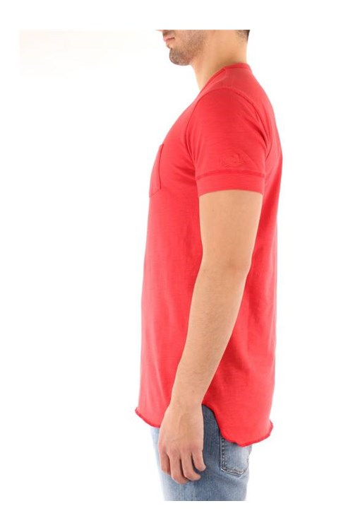 Penn-rich By Woolrich Short sleeve RED