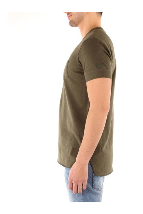Penn-rich By Woolrich Short sleeve greengrey
