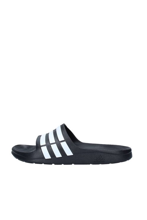 Adidas slippers BLACK