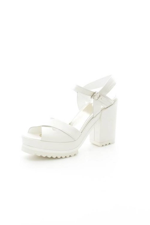Simpaty With heel WHITE