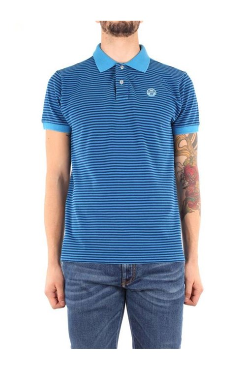North Sails T-shirt BLUE