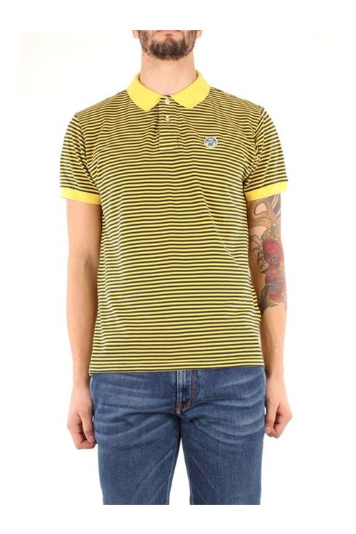 North Sails T-shirt YELLOW