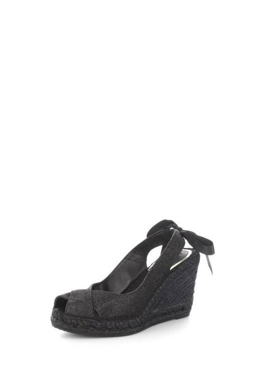 Vidorreta Rope Shoes BLACK