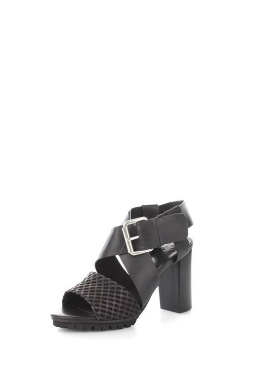 La Femme Plus Sandals BLACK