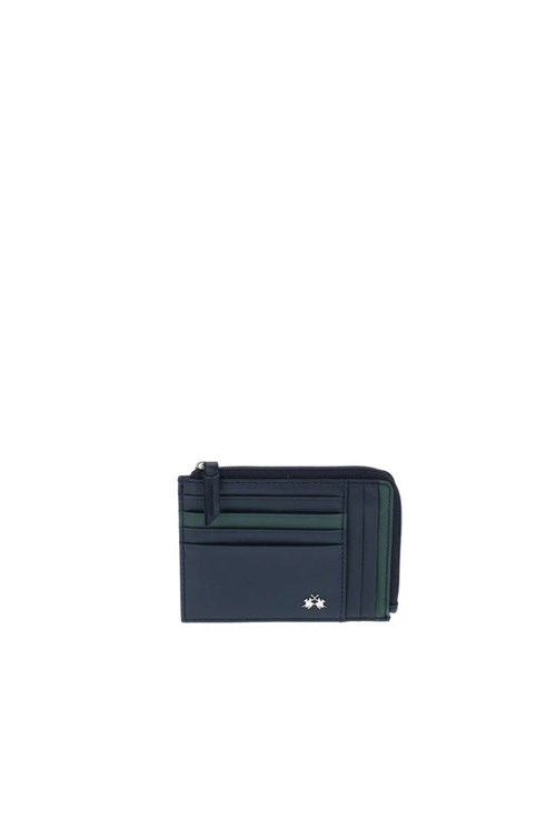 La Martina Wallets for Men NAVY BLUE