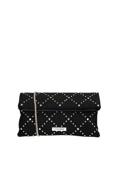 Cafe' Noir Clutch BLACK