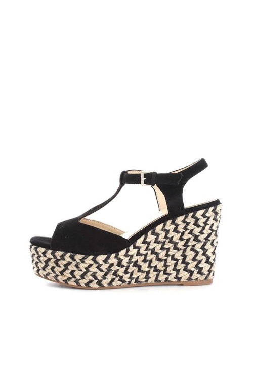 Sara Lopez Rope Shoes BLACK