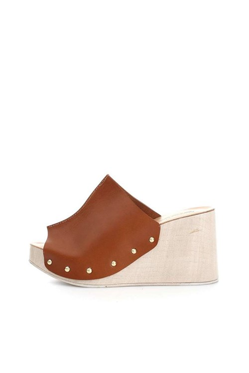 Seste'  With wedge LEATHER