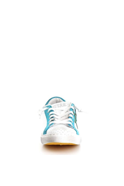 2 Star Sneakers TURQUOISE