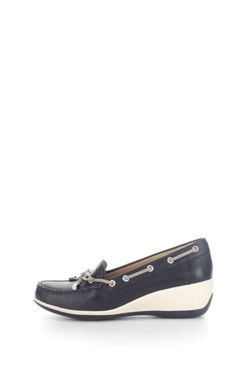 Geox Loafers NAVY BLUE