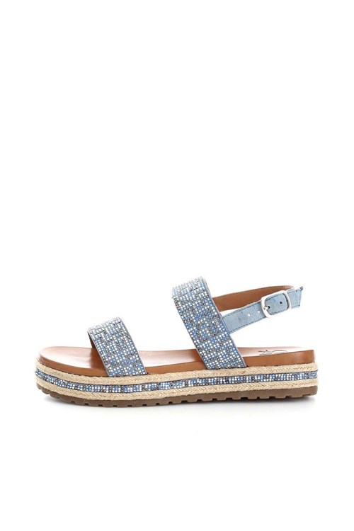 La Femme Plus Sandals LIGHT BLUE