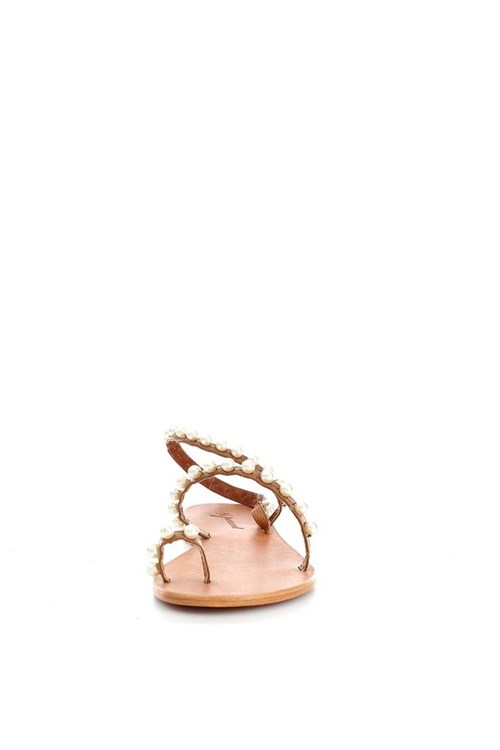 %percent Sandals BROWN