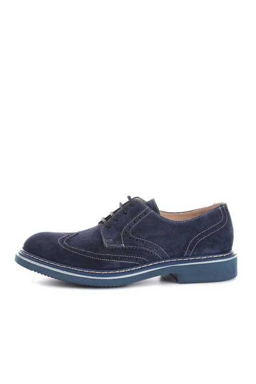 Kebo Shoes With Laces BLUE