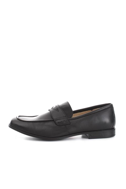 Lion Shoes Loafers BLACK