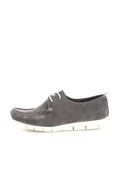 Docksteps Shoes With Laces GREY
