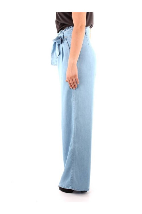 Guess Trousers WATER BLUE