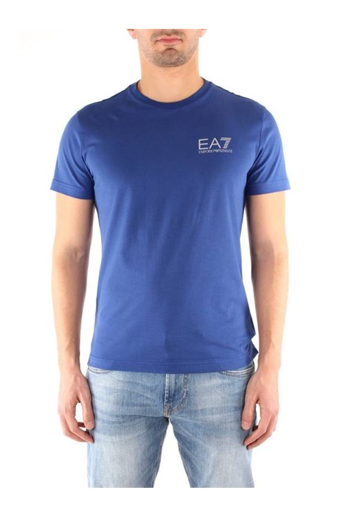 Ea7 T-shirt BLUE