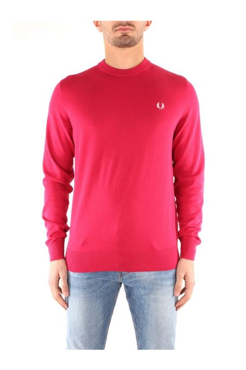 Fred Perry Knitwear BRICK RED
