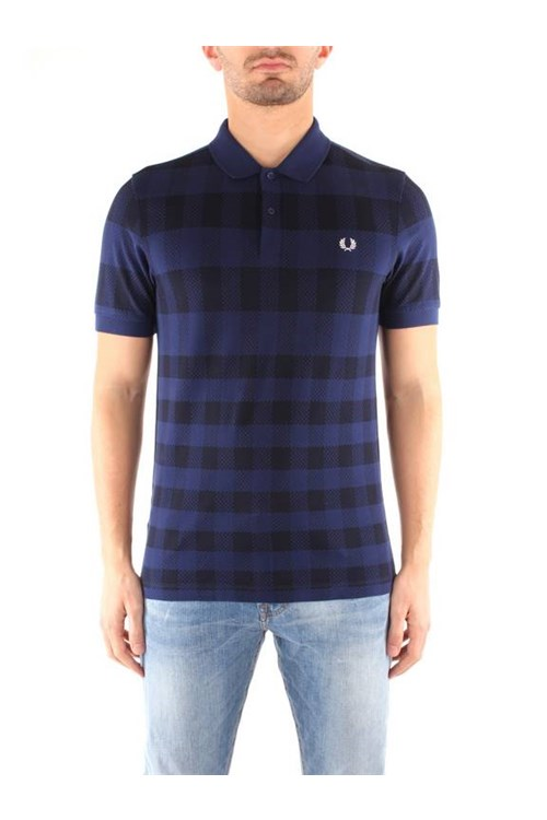 Fred Perry T-shirt LIGHT BLUE