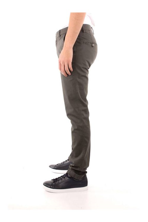 Mason's - Powell Trousers VERDEGRIS